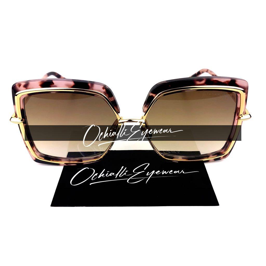 Okulary przeciwsłoneczne Dita NARCISSUS szylkret/róż z pudełkiem