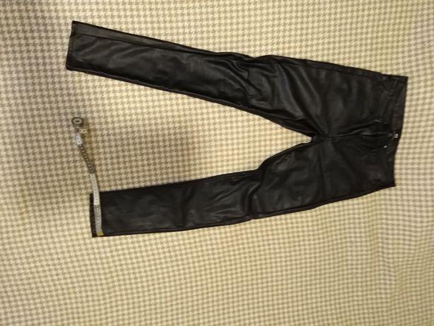 Мужские кожаные штаны H&M
