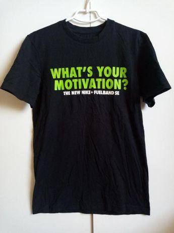 Оригинальная черная футболка nike just do it в чем твоя мотивация