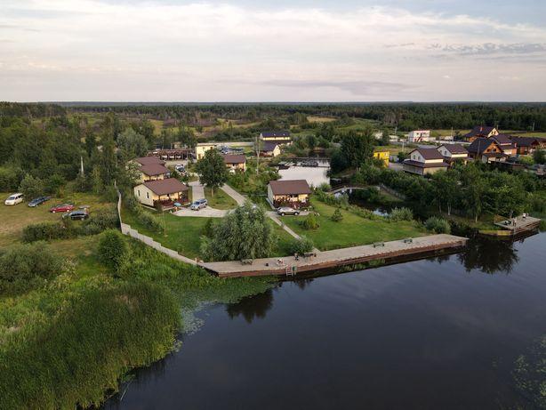 Аренда домов на берегу Днепра, рыбалка, кафе-бар, развлечения