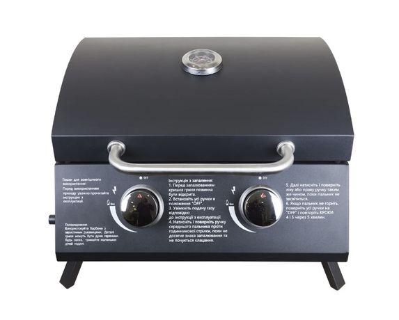 Газовый гриль-барбекю LV GLV200302T Black