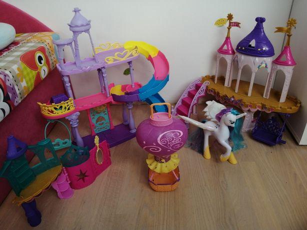 My Little Pony zestaw zamków balon i księżniczka Celestia
