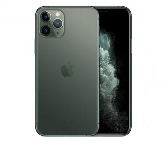 Rewelacyjny Apple Iphone 11 pro 64 gb midnight green + 3 etui