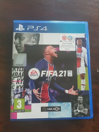 Vendo Fifa 21 (PS4/PS5) c/ selo IGAC