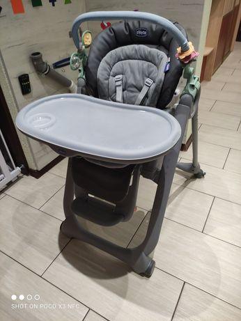 Krzesełko do karmienia, leżaczek, krzesło dostawione do stołu Chicco