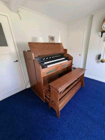 Fisharmonia Worcester 2 manuały z klawiaturą nożną