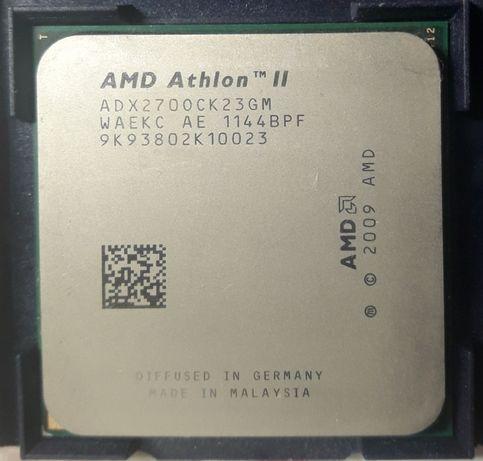 Процессор AMD Athlon II X2 270 3.4GHz.