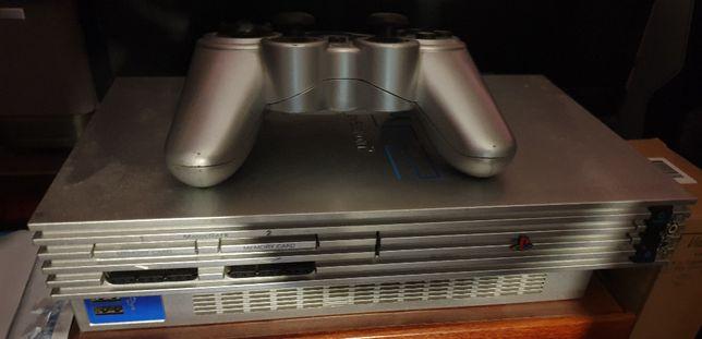 Playstation 2 srebrna - Mega zestaw ! ! !