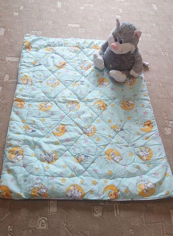 Тёплое детское одеяло. Размер 100 см на 135 см Киев - изображение 1