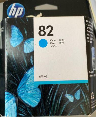 Tinteiro HP 82 Cyan