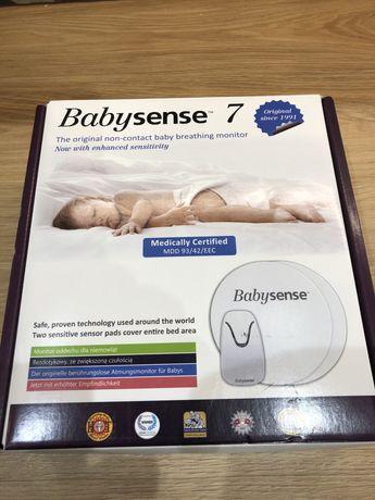 BABYSENSE 7 - monitor oddechu dla niemowląt, testowany klinicznie.