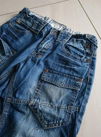 Spodnie szorty jeans 140-152