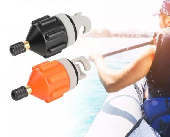 Adapter do pompowania pontonu, deski, sup, belly boat, łodzi pneumatyc