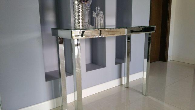 Stolik lustrzany konsola z fazami