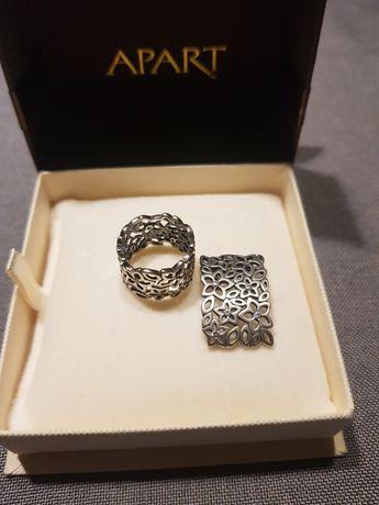 Apart pierścionek zawieszka srebro