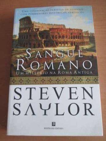 Sangue Romano - de Steven Saylor - NOVO