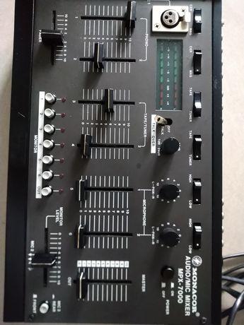Monacor audio mixer mpx 7000