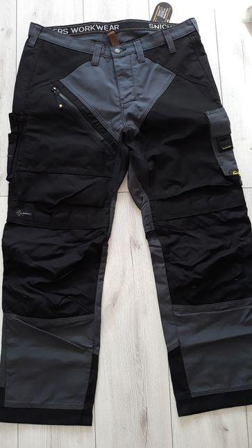 Nowe spodnie robocze SNICKERS 6202 RUFF WORK+ rozmiar54, 56,58,158