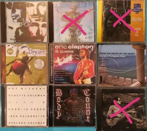 CDs diversos originais
