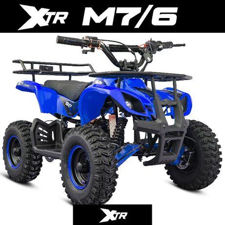 MINI QUAD XTR M7 Spalinowy 50cc Elektryczny 1000W 3-prędkości dostawa