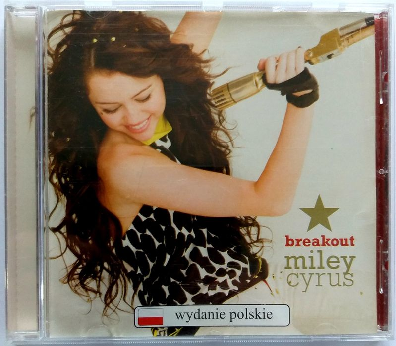 Miley Cyrus Breakout PL 2008r Stary Dwór - image 1