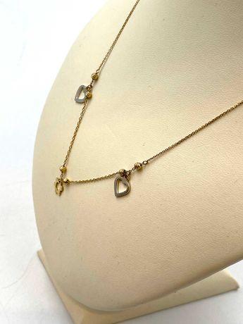 Złoty łańcuszek/celebrytka Pr. 585 Waga: 2,66 G Plus Lombard