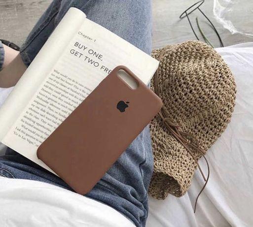 Чехол силикон на iphone8+