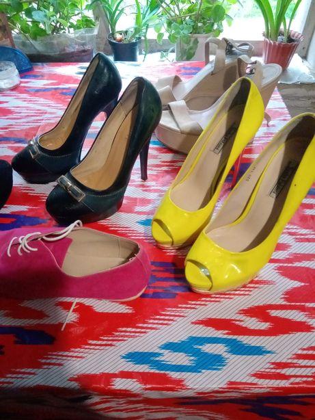 Туфли кеды и сапоги