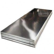 Лист из пищевой нержавейки 1х2 м, 1 мм зеркальный нержавеющий AISI 304