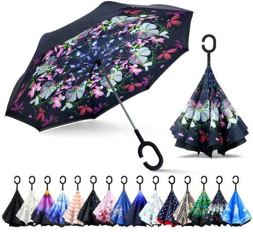 Parasol dwustrefowy ochrona UV, wiatroodporny