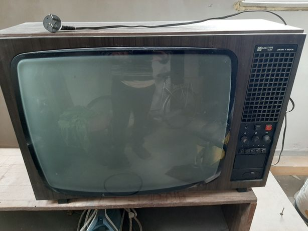 Zabytkowy telewizor Unitra Uran T601A