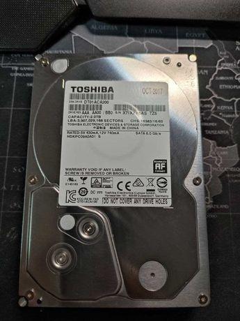 """Продам свій резервний вінчестер 2000GB (2TB) HDD формата 3.5"""" Toshiba"""