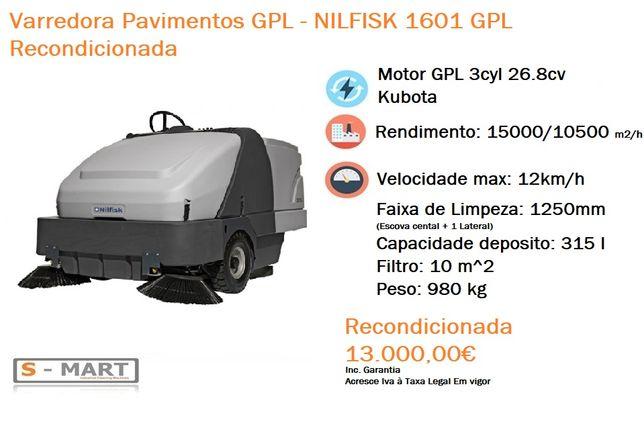 Varredora Pavimentos Nilfisk 1601 GPL PROMOÇÃO