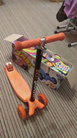 Продам самокат детский 3х-колесный