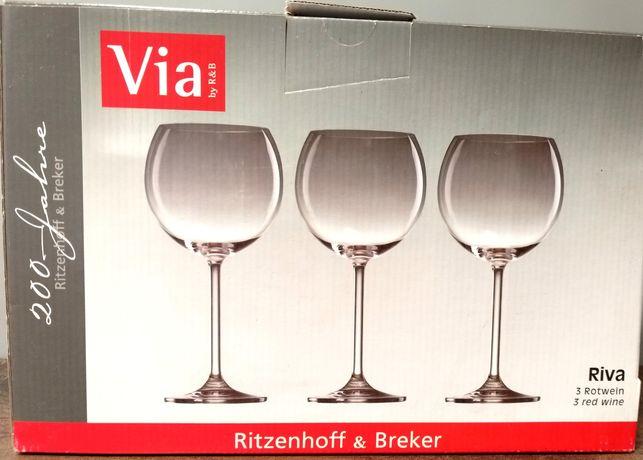 ritzenhoff & breker kieliszki do czerwonego wina duże