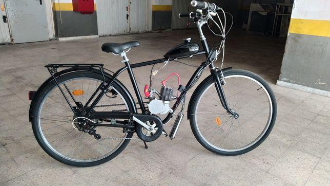Bicicleta a motor pasteleira Zeda 100cc