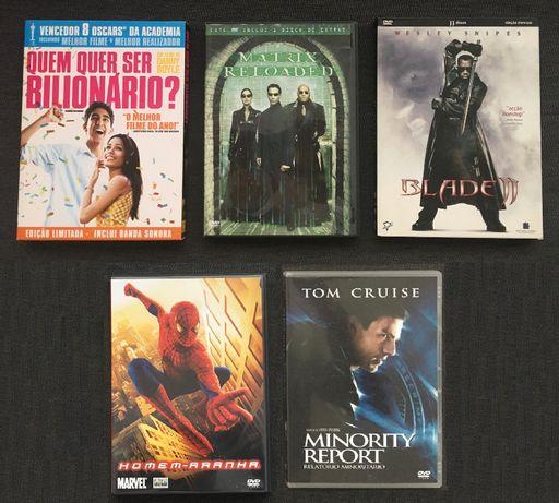 5xDVD Vários Filmes (Ed. PT) - portes incluídos (vendo separado)