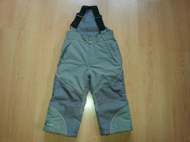 Spodnie ocieplane WAVE narciarskie lub na sanki roz.100, wodoodporne