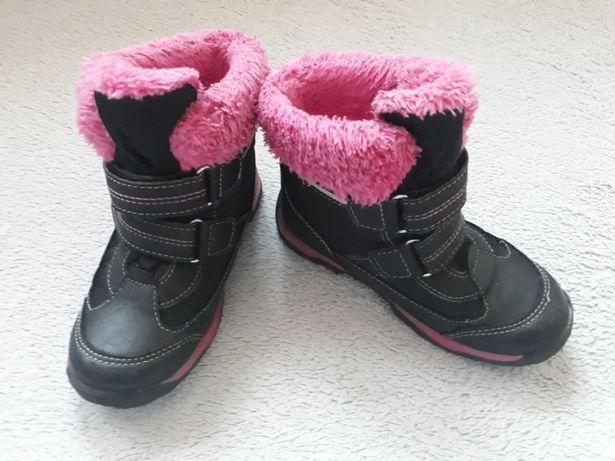Sprzedam buty zimowe dziewczęce w r. 28