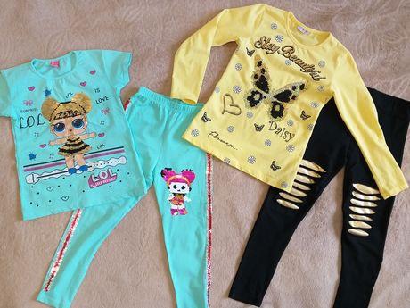 Костюмы на девочку LOL и яркий золотой с бабочкой.
