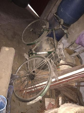 Bicicleta pasteleira antiga