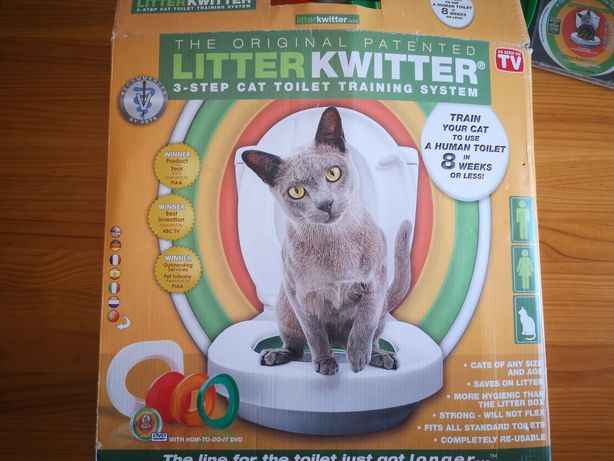 Litter Kwitter Adaptador sanitário para gatos