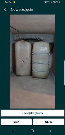 Zbiorniki na olej opałowy (2 szt)