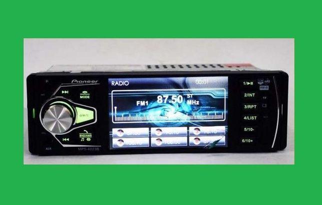 Автомагнитола Pioneer 4023. 4'' Video HD. Блютуз! 40117/4018/4019/4020