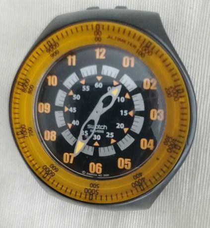 Relógio Swatch Snowpass com Altímetro