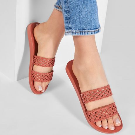 Шлепки сандали ipanema темный беж оригинал