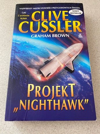 """Clive Cussler """"Project Nighthawk"""""""
