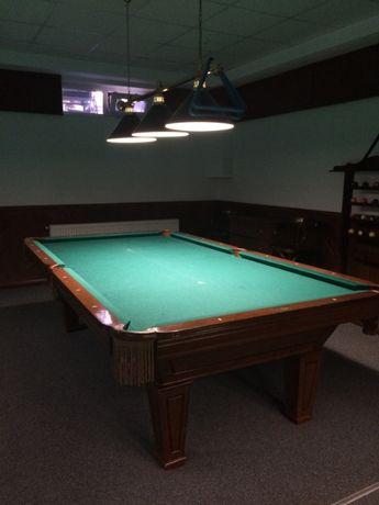 Продам бильярдный стол HUSTER (америк),модель НАПОЛЕОН полный комплект