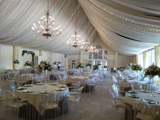 Dekoracje ślubne, kwiaty na wesele, florystyka eventowa