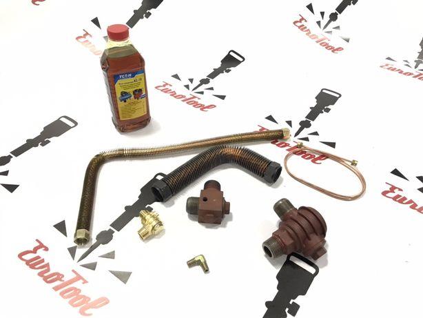Запчасти для компрессоров,автоматика,трубки,масло компрессорное